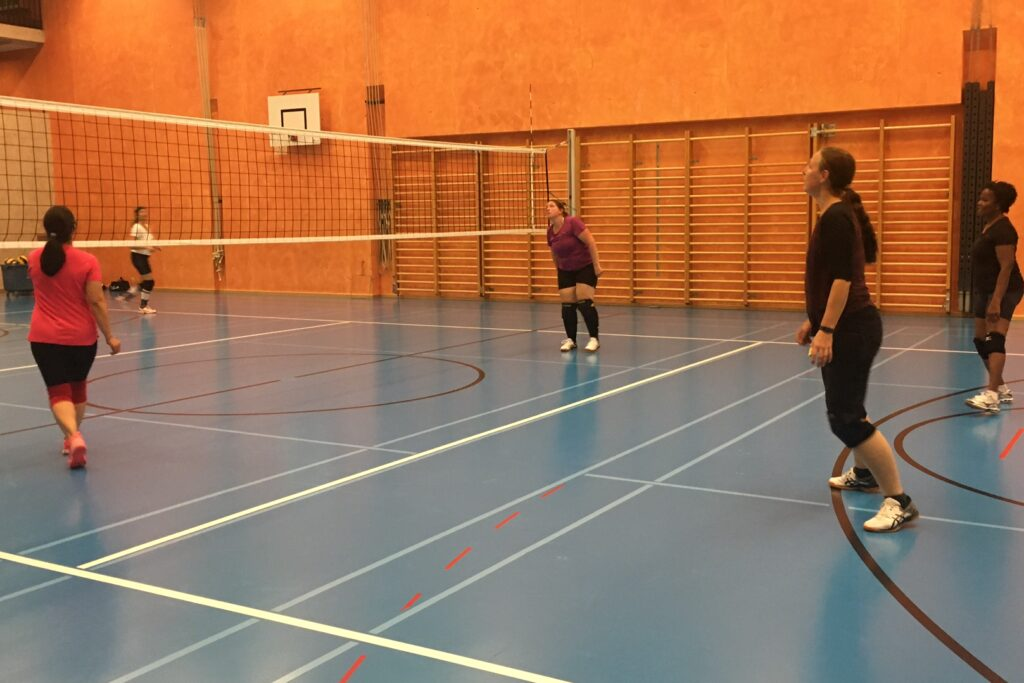 Volleyball Easy League Trianing 3